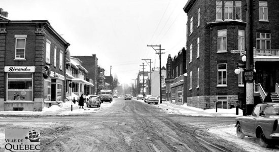 Montcalm dans les années 1960 : intersection avenue Bourlamaque et boulevard Saint-Cyrille - Jean Cazes