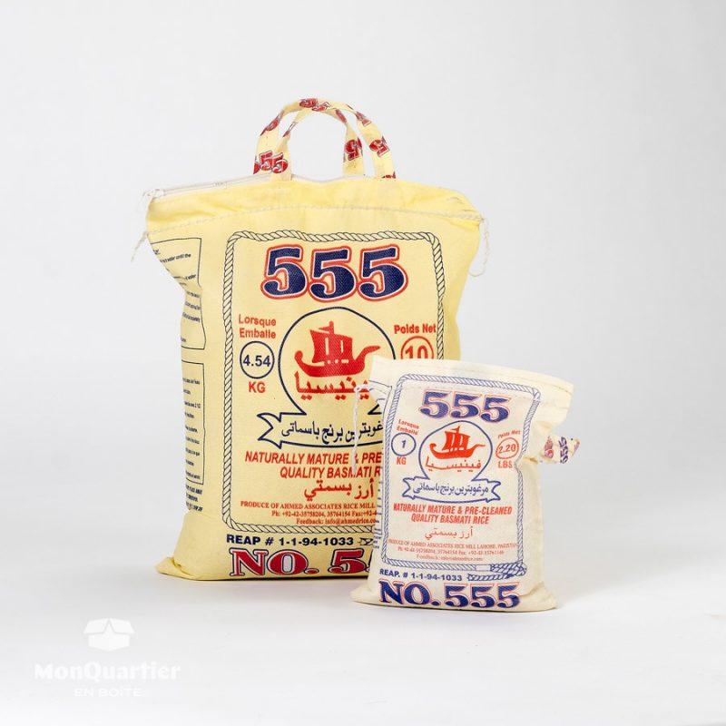 Riz Basmati 555