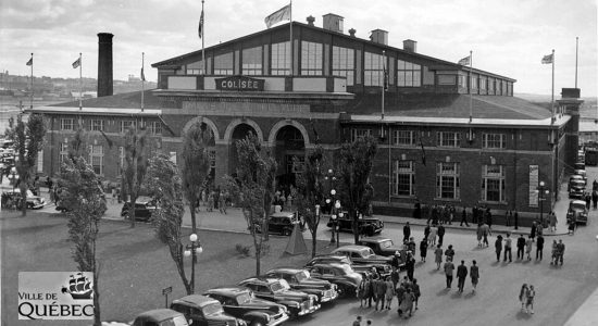 Une histoire du Colisée de Québec : 1- L'incendie du petit Colisée en 1949 - Réjean Lemoine