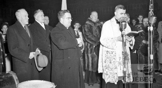 Une histoire du Colisée de Québec : 3- L'inauguration du nouveau Colisée en 1949 - Réjean Lemoine