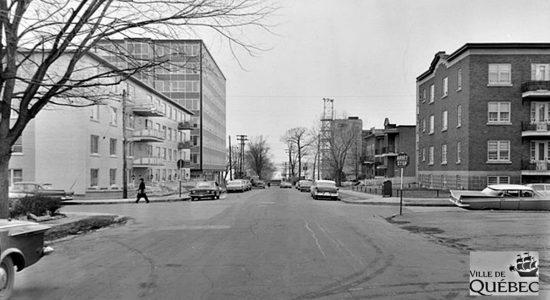 Saint-Sacrement dans les années 1960 : avenue Bégin - Jean Cazes