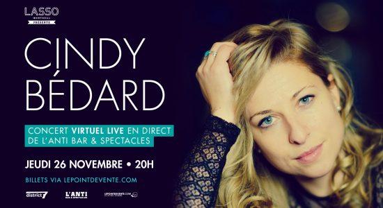 Cindy Bédard – Concert virtuel
