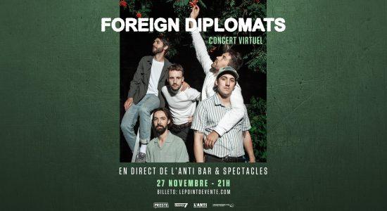 Foreign Diplomats – Concert virtuel