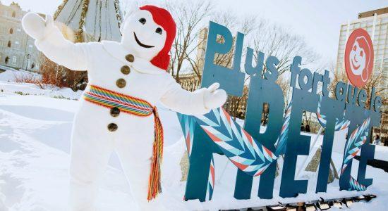 Le Carnaval de Québec s'installe sur sept artères commerciales - Julie Rheaume