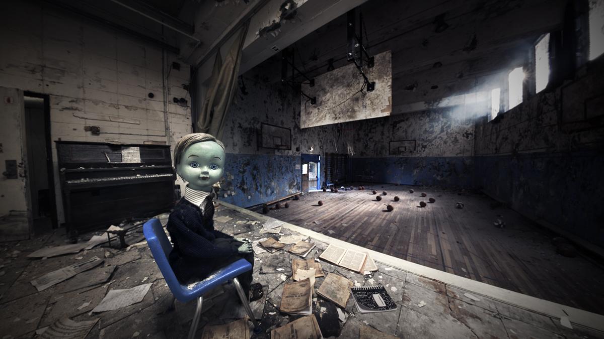 Gymnasia, créé et réalisé par Chris Lavis et Maciek Szczerbowski, produit par l'Office national du film du Canada et Félix & Paul Studios. Image tirée du film.