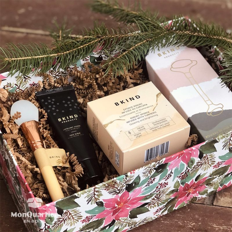 Boîte cadeau «soins du visage» BKIND