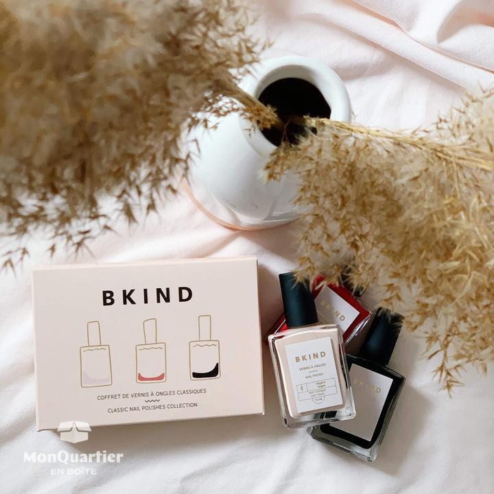 Boîte cadeau «soins des ongles» BKIND
