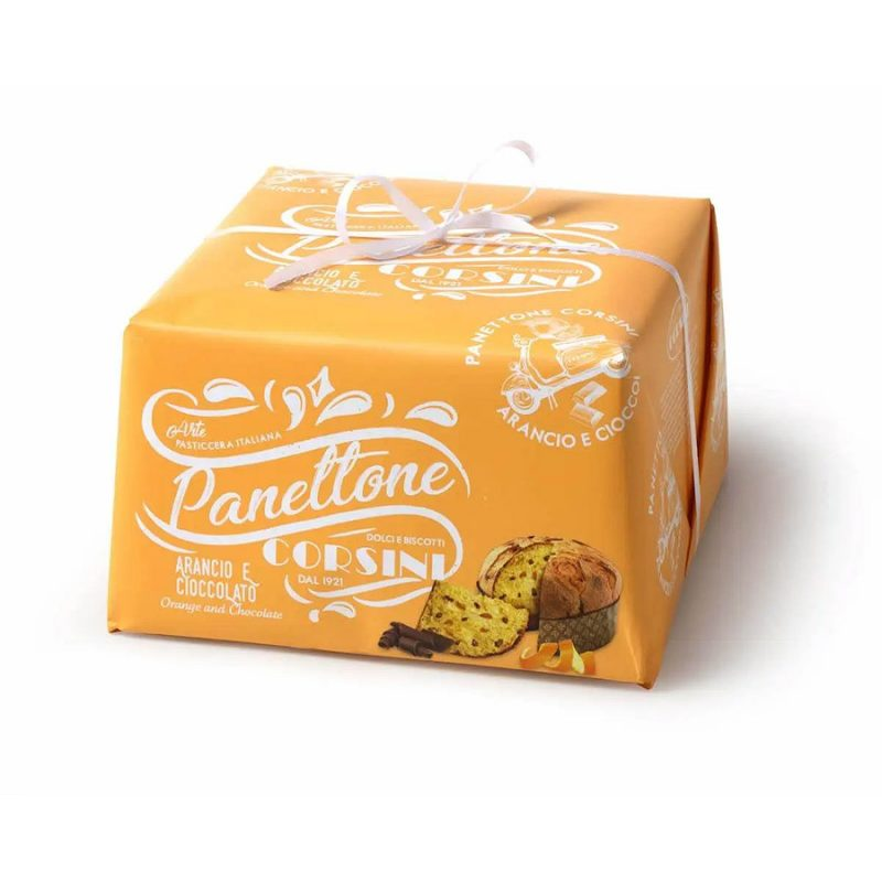 Panetonne Corsini Orange et chocolat