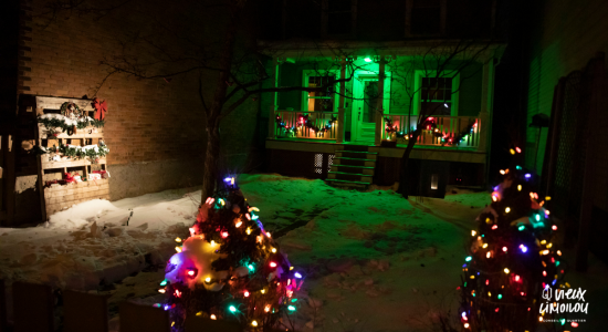 Concours de lumières Desjardins : l'éclairage gagnant et les mentions honorables - Conseil de quartier du Vieux-Limoilou