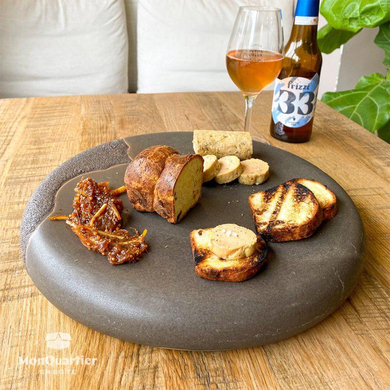 Foie gras au muscat du Cap Corse