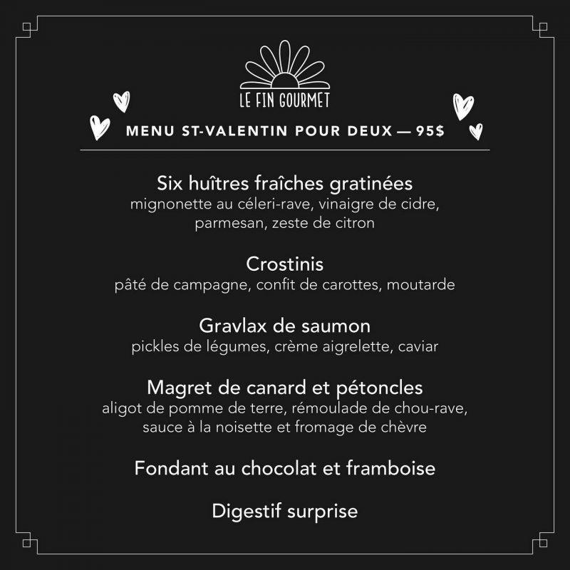 Boîte Saint-Valentin du Fin Gourmet