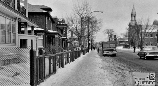 Montcalm dans les années 1960 : le chemin Sainte-Foy au niveau de l'avenue Casot - Jean Cazes