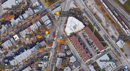 Stationnement de 92 cases sur le boulevard des Capucins en consultation - Véronique Demers