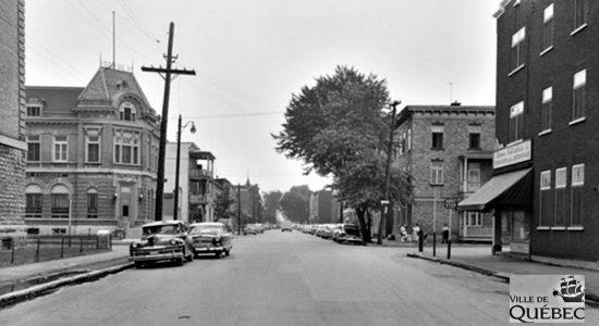 Limoilou dans les années 1950 (48) : intersection 5e Rue et 4e Avenue - Jean Cazes