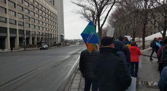Rassemblement festif pour le tramway, 18 mars 2021