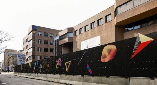 Une palissade artistique évolutive sur Saint-Joseph - Suzie Genest