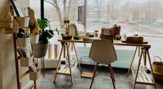 Nouvelle boutique de produits naturels et en vrac dans Saint-Sacrement - Julie Rheaume