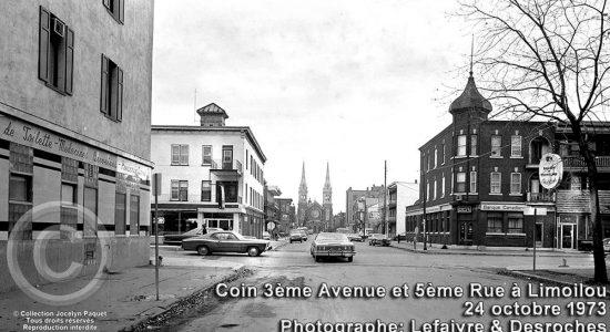 Limoilou dans les années 1970 (52) : intersection 3e Avenue et 5e Rue - Jean Cazes