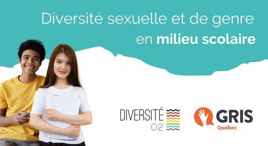Formation en ligne: diversité sexuelle et de genre en milieu scolaire