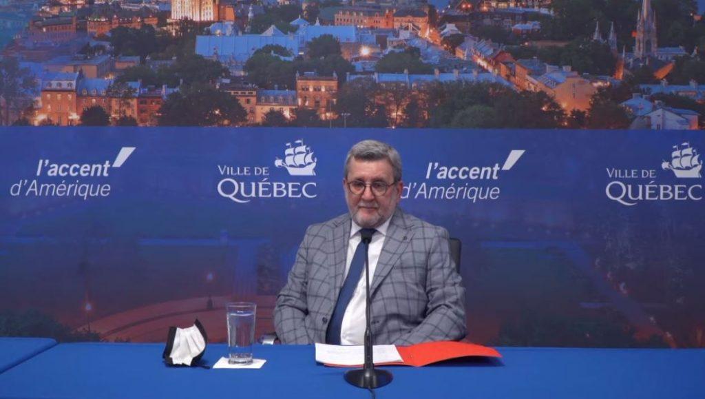 Le maire Labeaume ne briguera pas de nouveau mandat | 5 mai 2021 | Article par Julie Rheaume