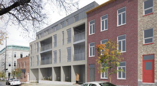 Projet de logements et de bureau d'architectes au 533, Langelier - Julie Rheaume