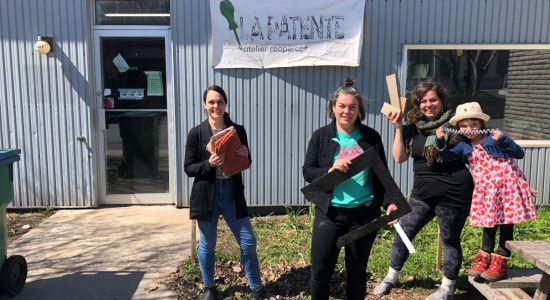 La Recyclerie: revaloriser les matériaux de construction et outil - Julie Rheaume