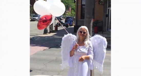 Un ange pour la sécurité routière dans Saint-Sacrement - Suzie Genest