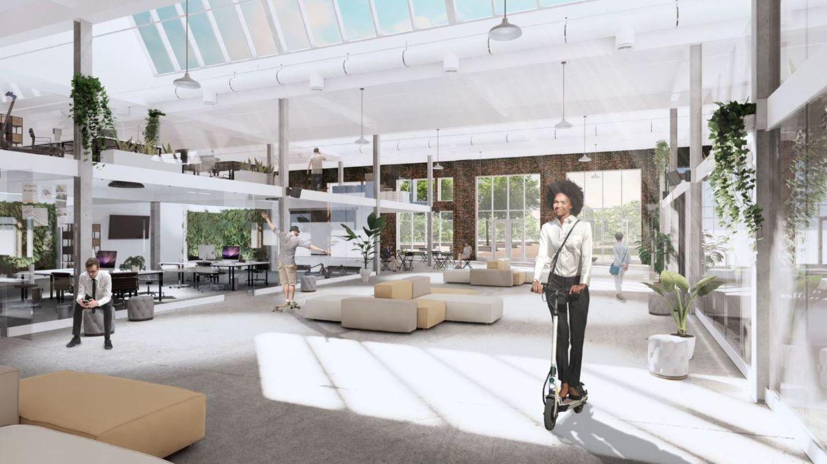 Zone d'innovation Littoral Est: la Ville présente son projet Le Garage - Julie Rheaume