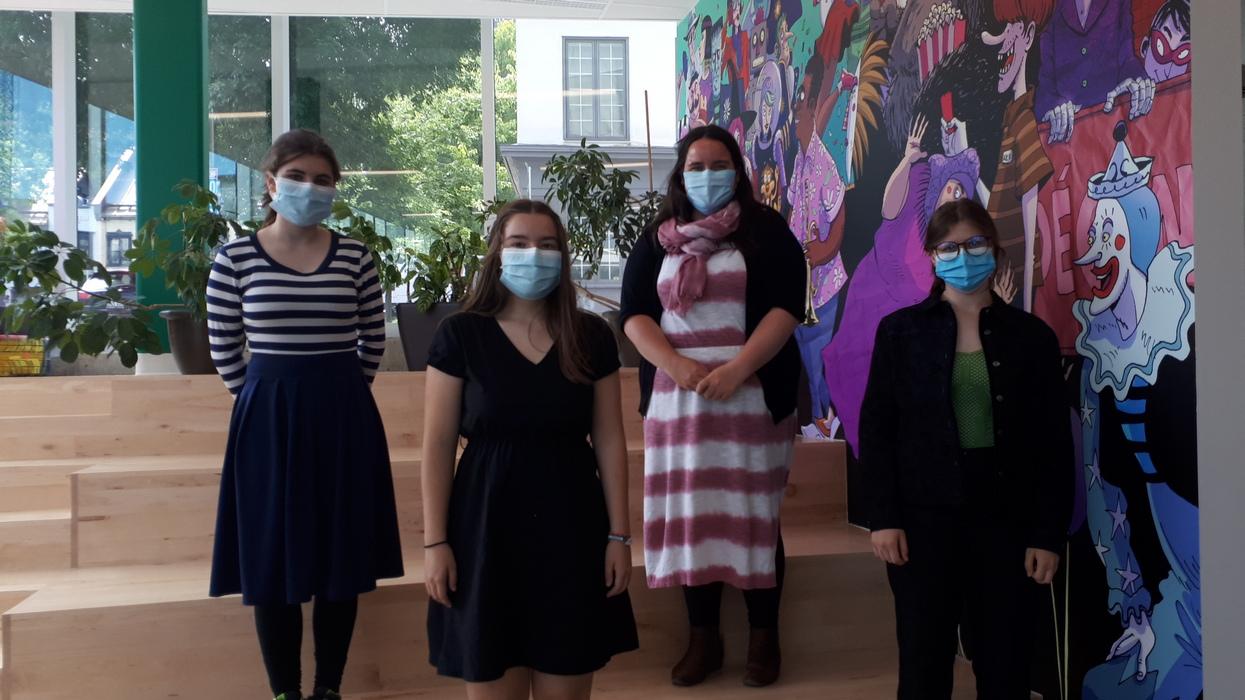 Les jeunes C-Vert agissent pour protéger l'environnement - Viktoria Miojevic