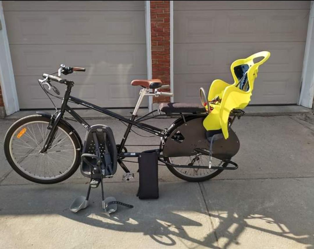 Vélo cargo Yuba Mundo