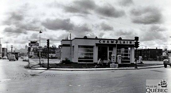 Limoilou dans les années 1950 (49) : la station service Champlain - Jean Cazes