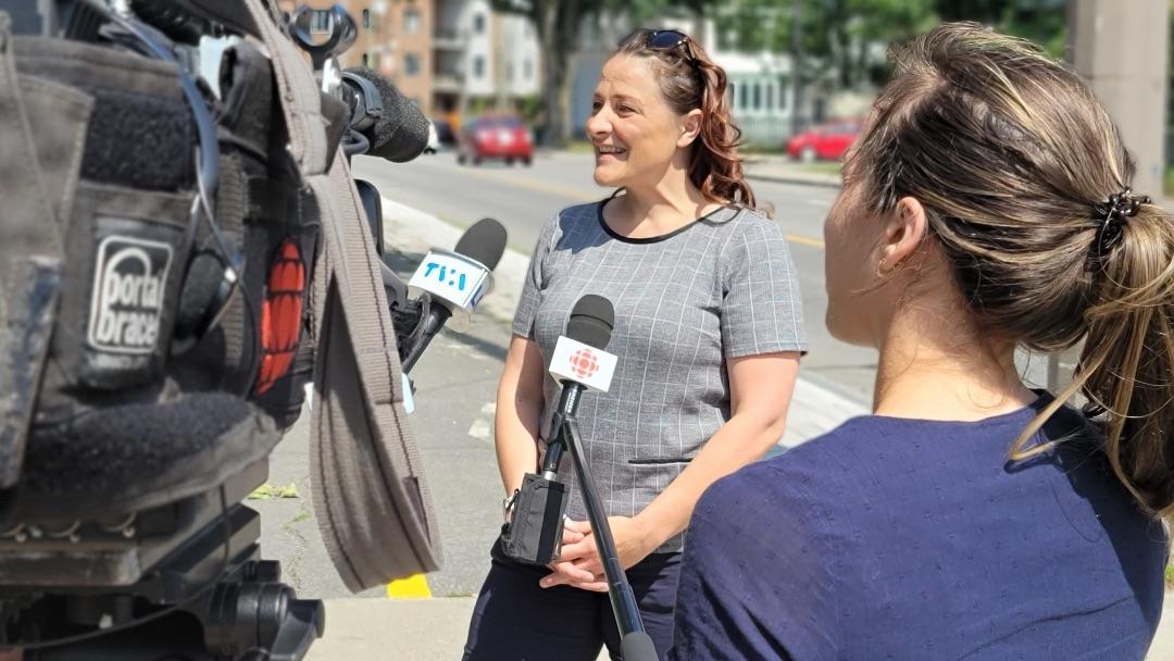 Élections fédérales 2021: Julie Vignola, Bloc Québécois - Véronique Demers