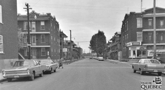 Limoilou dans les années 1960 (142) : intersection 4e Avenue et 11e Rue - Jean Cazes