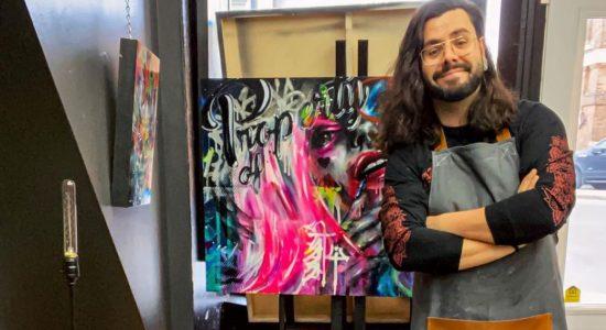 Un atelier-galerie pour l'artiste Yann Lemieux sur l'avenue des Oblats - Julie Rheaume